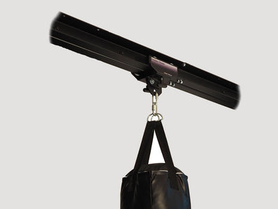 I-Beam Rolling Mount - 4 Feet Rail Combo - Heavy Bag Mount