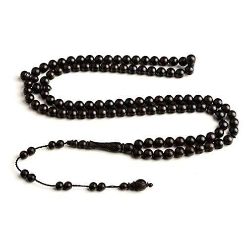 Ebony Signature Anatolian BasmalaBeads Seeker with Engravings (8mm)