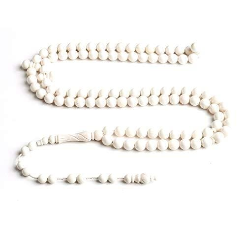 Camel Ivory Signature Anatolian BasmalaBeads Seeker with Engravings (10mm)