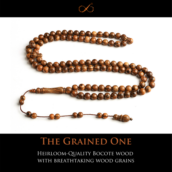 The Grained One - Heirloom-Quality Bocote Wood  with Breathtaking Wood Grains