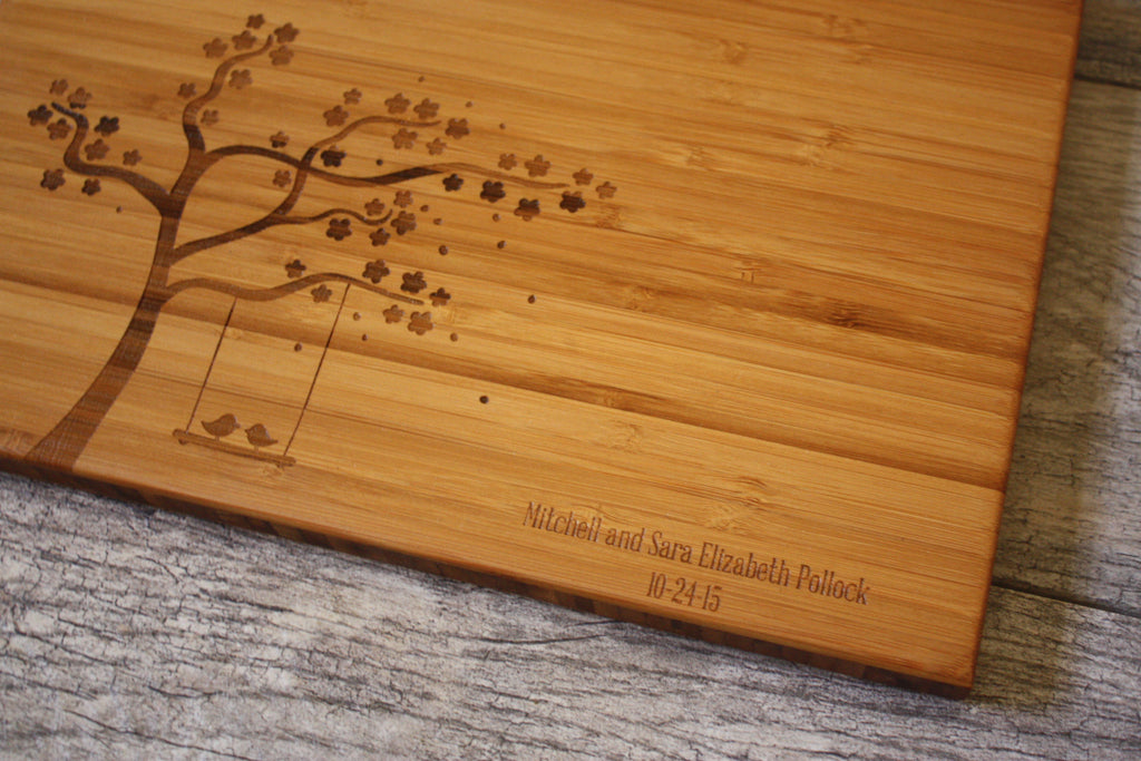 Love Birds Cutting Board