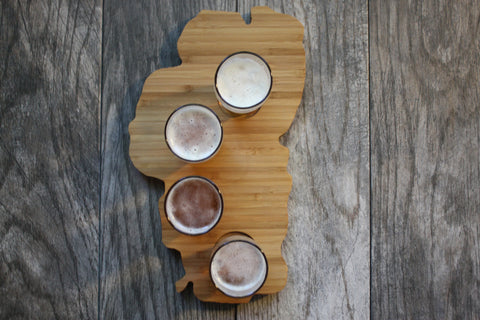 Lake Tahoe Beer Flight