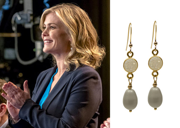 Murder She Baked Hallmark Channel earrings
