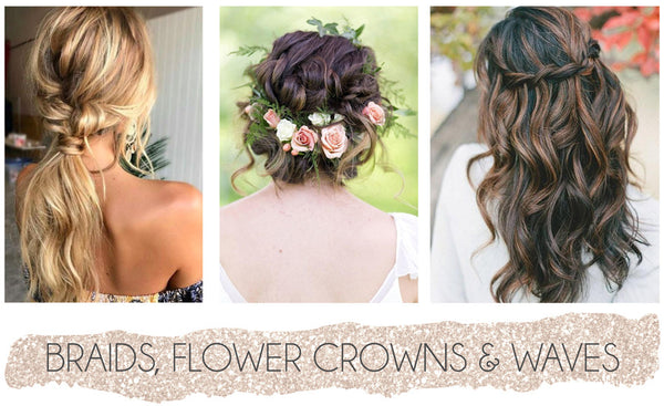 bohemian bridesmaid hair styles