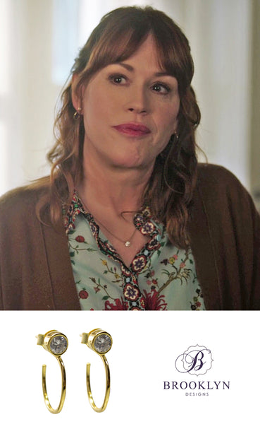 Molly Ringwald jewelry on riverdale