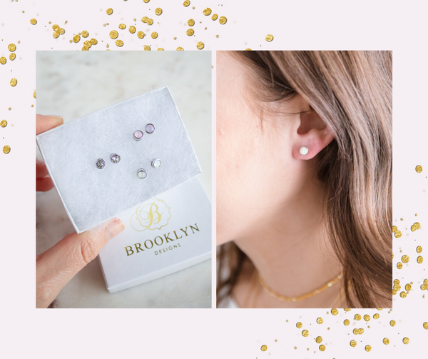 Gift With Purchase Swarovski Crystal Stud Earrings