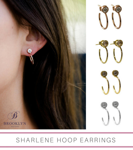 Sharlene Hoop Earrings