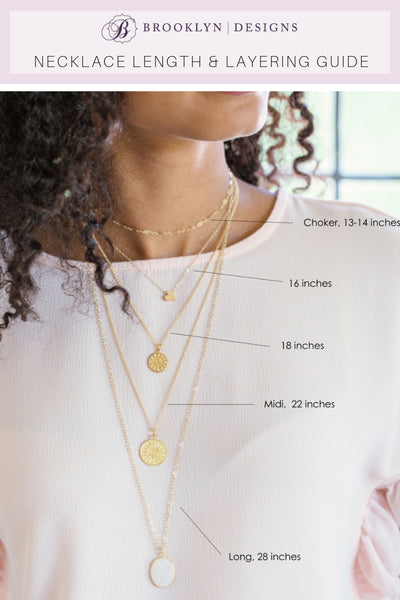 brooklyn designs necklace length and layering guide