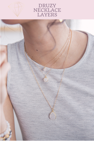 dainty-gold-druzy-layering-necklaces
