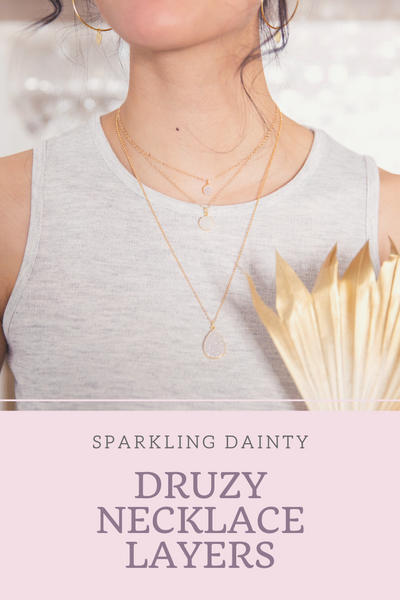 druzy-necklace-layers
