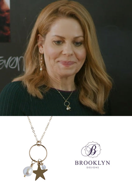 aurora-teagarden-mystery-jewelry-engraved-star-charm-gold-necklace