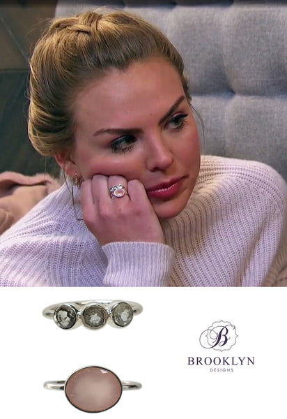 The Bachelorette Hannah B stacking rings