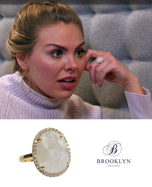 The Bachelorette Hannah big gemstone ring