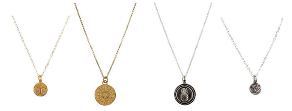 Winter Collection Medallion Necklaces