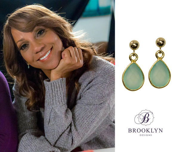 Holly Robinson Peete earrings Morning Show Mystery