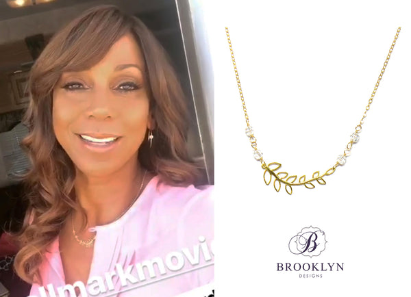 Holly Robinson Peete necklace