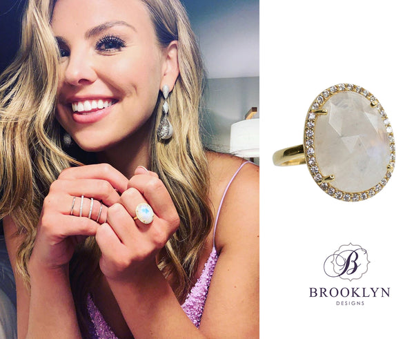 Winslet gemstone ring worn on The Bachelorette