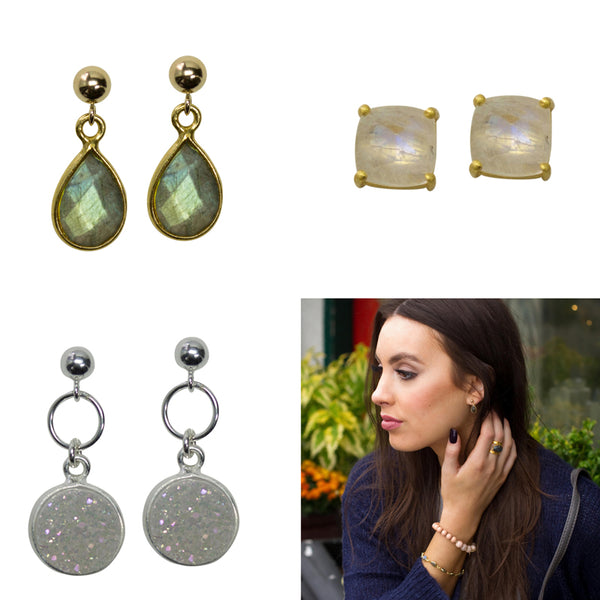 Understated Earrings The Are Perfect For The Work Week