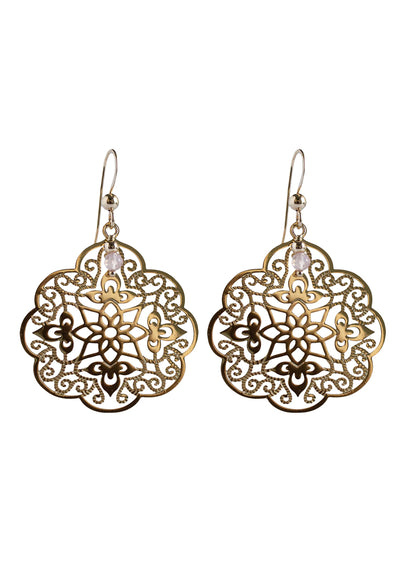 Brynna Gold Earrings *As Seen On Candace Cameron Bure*