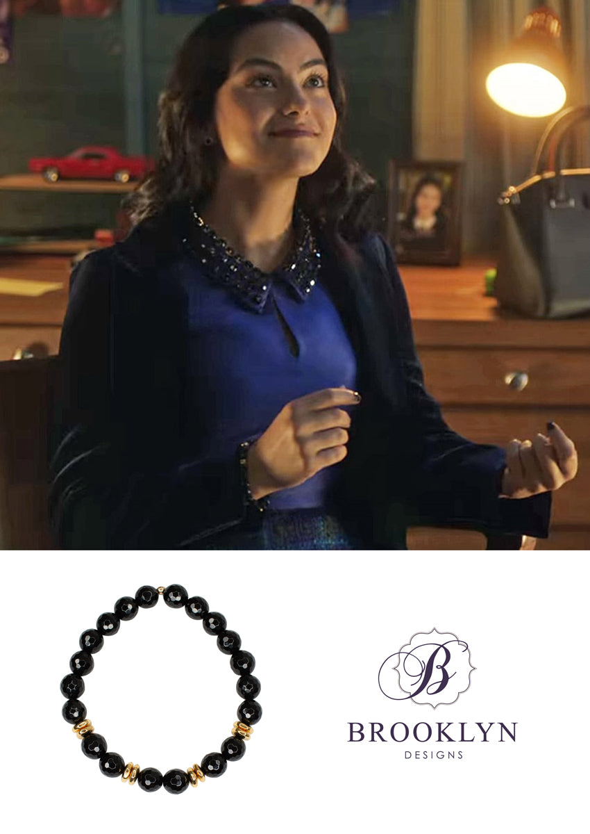 Alex Black Onyx Gold Bracelet *As Seen On Riverdale*