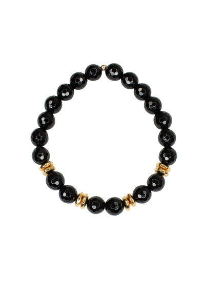Alex Black Onyx Gold Bracelet