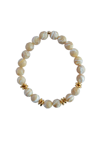 Alex MOP Gold Bracelet