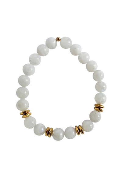 Alex Rainbow Moonstone Gold Bracelet