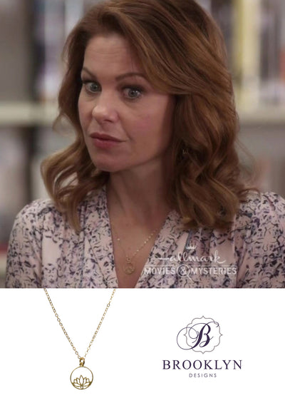 Aurora Gold Necklace *As Seen On Candace Cameron Bure*