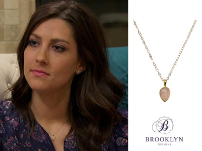 The Bachelorette necklace worn by Becca Kufrin