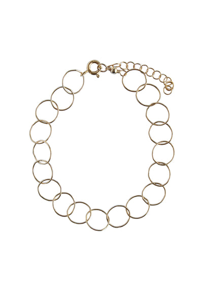 Bubble Gold Bracelet