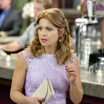 Lilly Silver Earrings *As Seen On Candace Cameron Bure & Scandal*