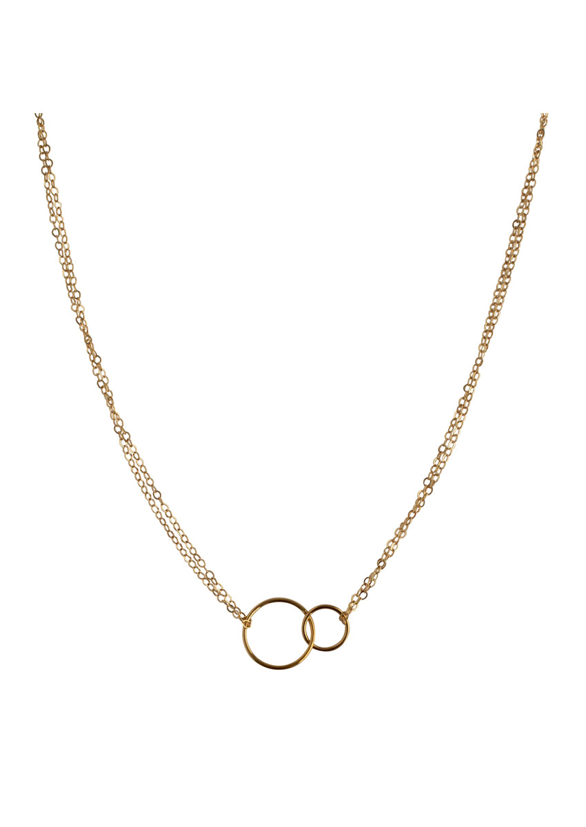 Charity Gold Necklace