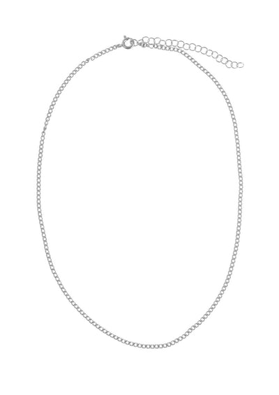 Claudia Silver Necklace