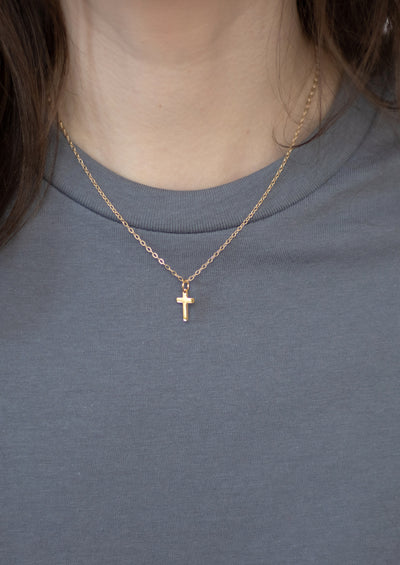 Cross Silver Necklace