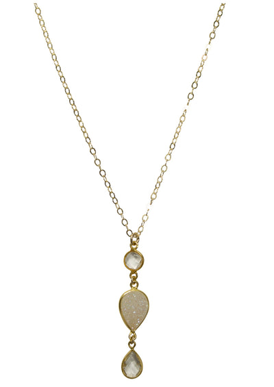 Dana Long Gold Necklace *As Seen On Candace Cameron Bure*