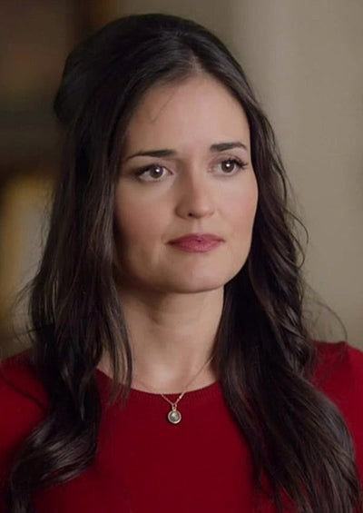 Danica McKellar Hallmark necklace jewelry