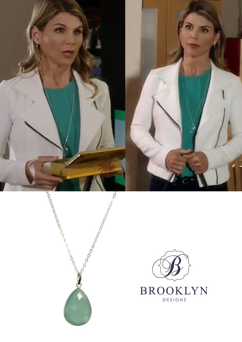 Danielle necklace worn on Garage Sale Mystery The Hallmark Channel