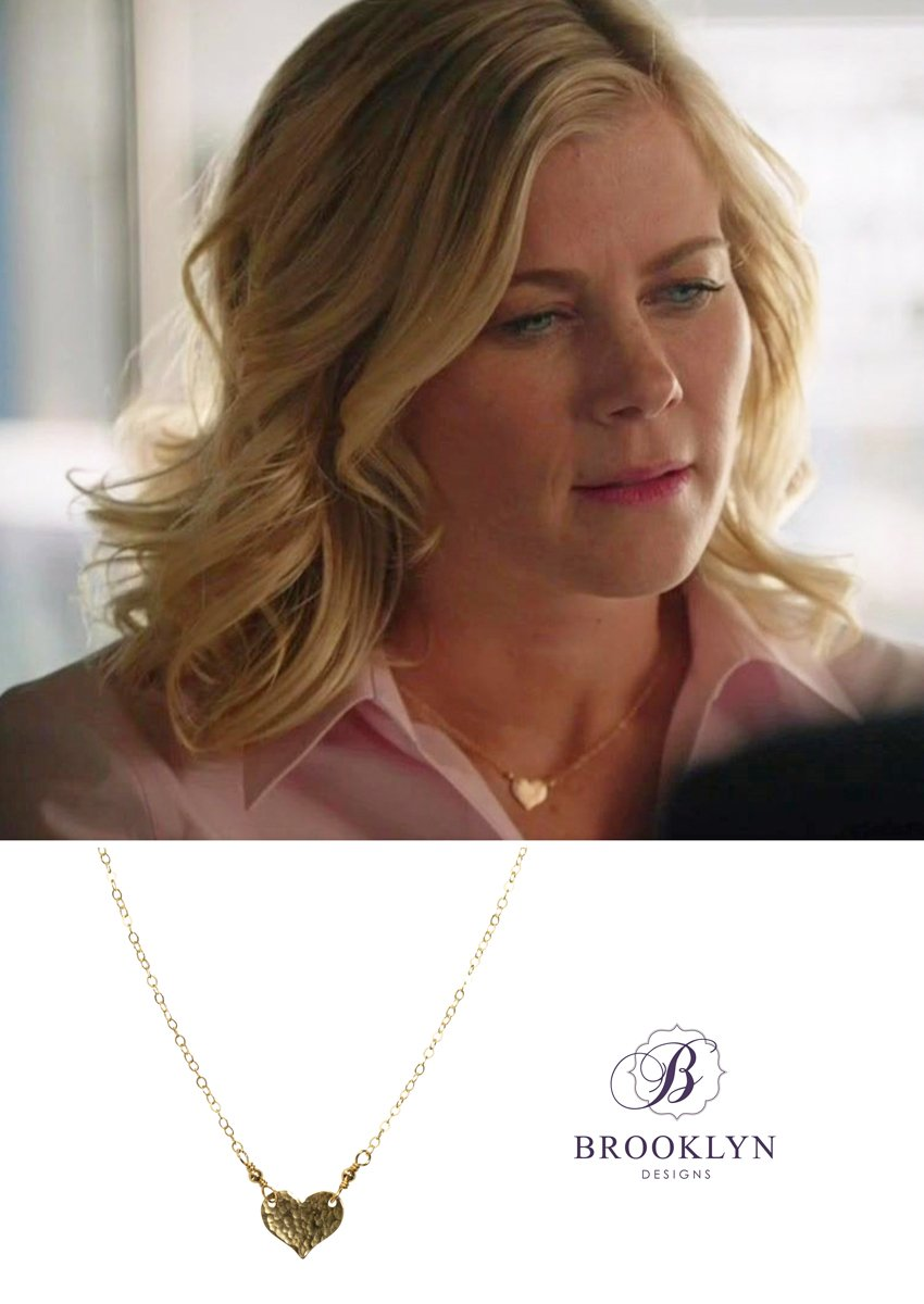 Daphne Gold Necklace *As Seen On Alison Sweeney*