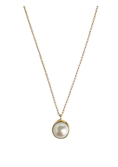 Darcy Freshwater Pearl Gold Necklace