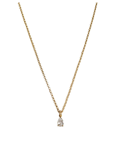 Diaz Gold Choker Necklace