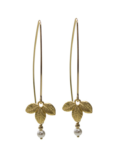 Elodie Gold Earrings *As Seen On Candace Cameron Bure*