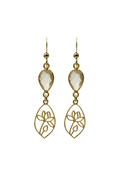 Faith Gold Earrings *As Seen On Candace Cameron Bure*