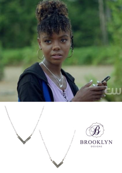 Florence Large Silver Necklace *As Seen On Riverdale*