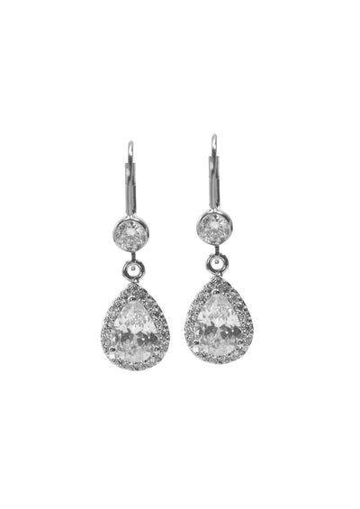 Gramercy Silver Earrings