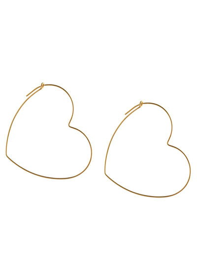 Hannah Gold Hoop Earrings