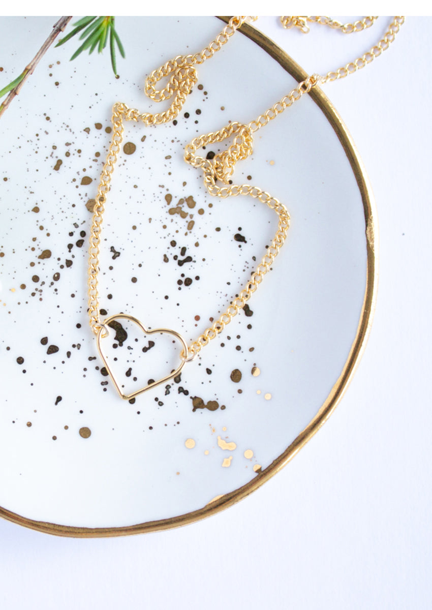 Hannah Gold Necklace