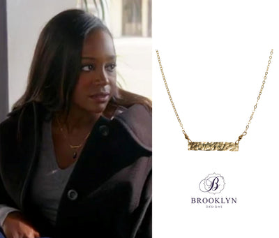Bobbi Gold Necklace *As Seen On How To Get Away With Murder*
