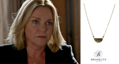 Half Moon Gold Necklace *As Seen On How To Get Away With Murder*