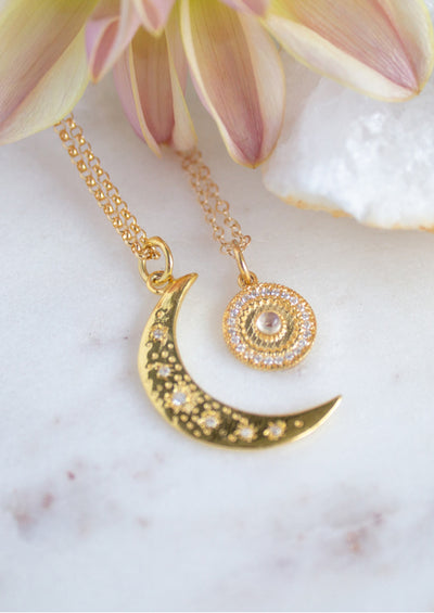 Dalia Gold Necklace