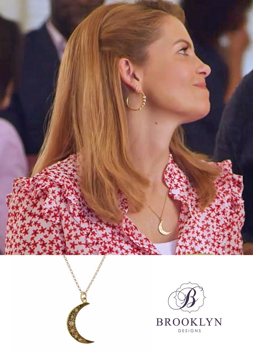 Ishana Gold Necklace *As Seen On Candace Cameron Bure*
